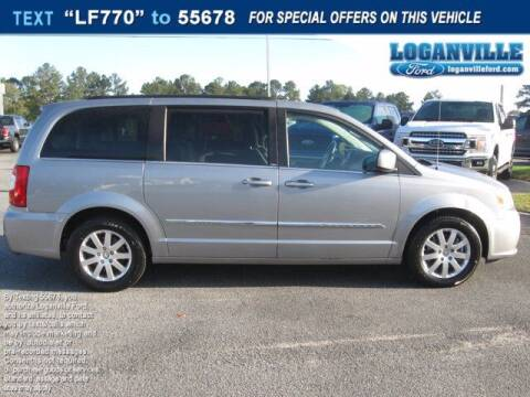 2013 Chrysler Town and Country for sale at Loganville Quick Lane and Tire Center in Loganville GA