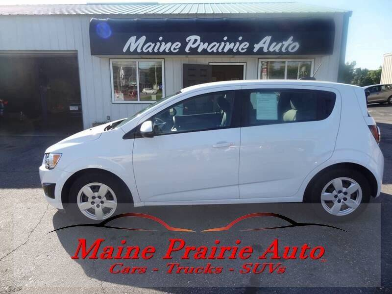 2016 Chevrolet Sonic for sale at Maine Prairie Auto INC in Saint Cloud MN
