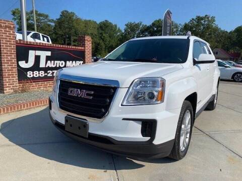 2017 GMC Terrain for sale at J T Auto Group in Sanford NC