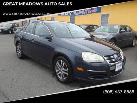2005 Volkswagen Jetta for sale at GREAT MEADOWS AUTO SALES in Great Meadows NJ