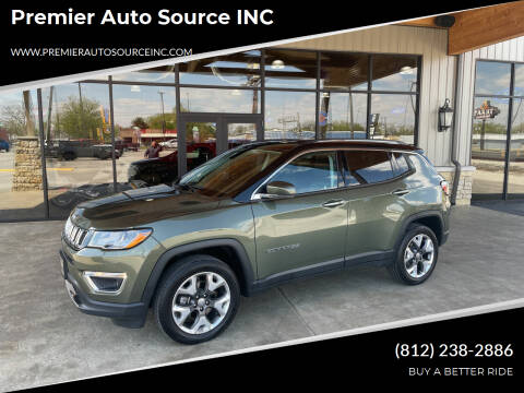 2020 Jeep Compass for sale at Premier Auto Source INC in Terre Haute IN