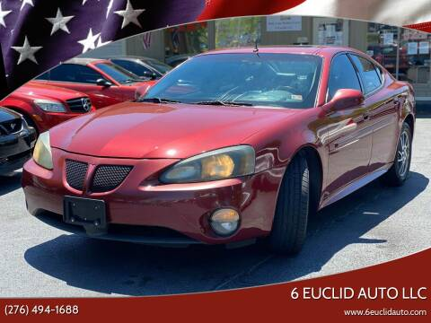 2004 Pontiac Grand Prix for sale at 6 Euclid Auto LLC in Bristol VA