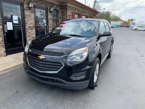 2016 Chevrolet Equinox for sale at Smyrna Auto Sales in Smyrna TN
