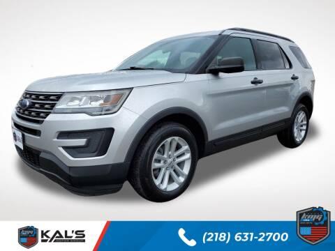 2017 Ford Explorer for sale at Kal's Kars - SUVS in Wadena MN