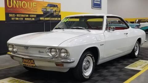 1966 Chevrolet Corvair for sale at UNIQUE SPECIALTY & CLASSICS in Mankato MN