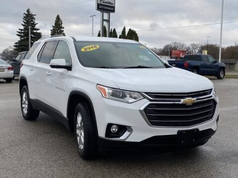 2018 Chevrolet Traverse for sale at Betten Baker Preowned Center in Twin Lake MI