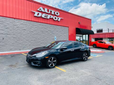 2016 Honda Civic for sale at Auto Depot - Madison in Madison TN