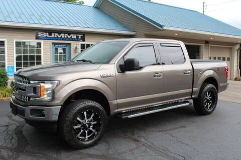2018 Ford F-150 for sale at Summit Motorcars in Wooster OH