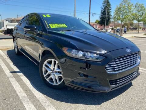 2016 Ford Fusion for sale at Affordable Auto Solutions in Wilmington CA