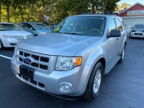 2010 Ford Escape Hybrid for sale at 1A Auto Sales in Walpole MA