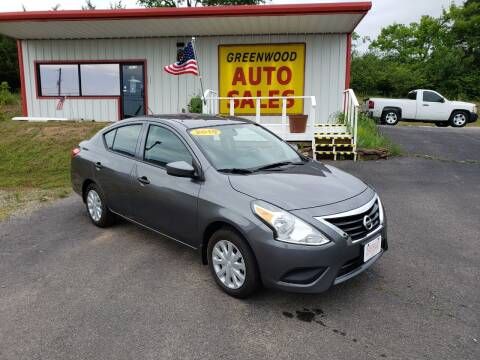 2019 Nissan Versa for sale at Greenwood Auto Sales in Greenwood AR