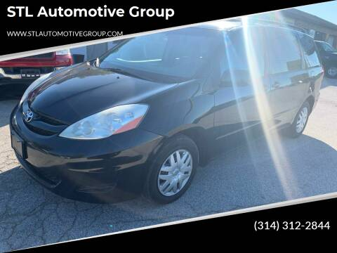 2009 Toyota Sienna for sale at STL Automotive Group in O'Fallon MO