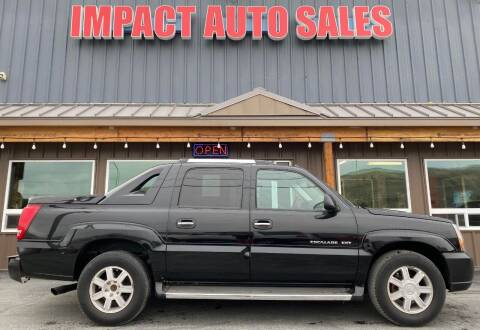 2005 Cadillac Escalade for sale at Impact Auto Sales in Wenatchee WA