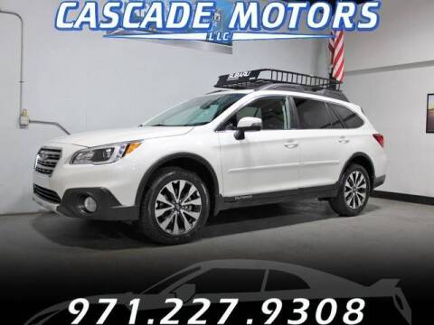 2016 Subaru Outback for sale at Cascade Motors in Portland OR