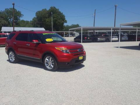 2012 Ford Explorer for sale at Bostick's Auto & Truck Sales in Brownwood TX