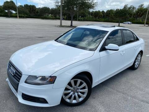 2012 Audi A4 for sale at Winners Autosport in Pompano Beach FL