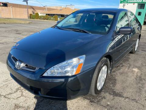2003 Honda Accord for sale at MFT Auction in Lodi NJ
