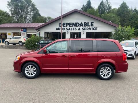 2015 Dodge Grand Caravan for sale at Dependable Auto Sales and Service in Binghamton NY