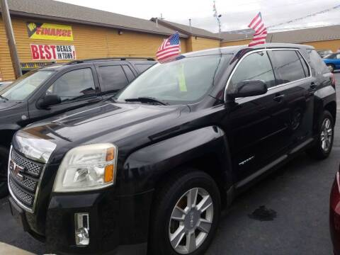 2008 GMC Acadia for sale at American Auto Group LLC in Saginaw MI