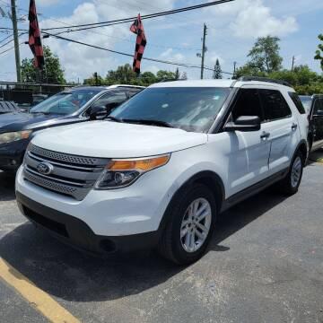 2015 Ford Explorer for sale at America Auto Wholesale Inc in Miami FL