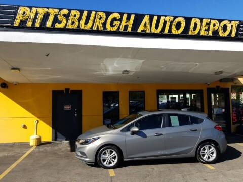 2018 Chevrolet Cruze for sale at Pittsburgh Auto Depot in Pittsburgh PA