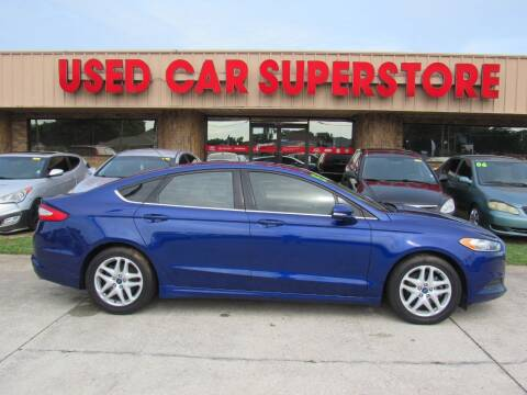 2015 Ford Fusion for sale at Checkered Flag Auto Sales NORTH in Lakeland FL