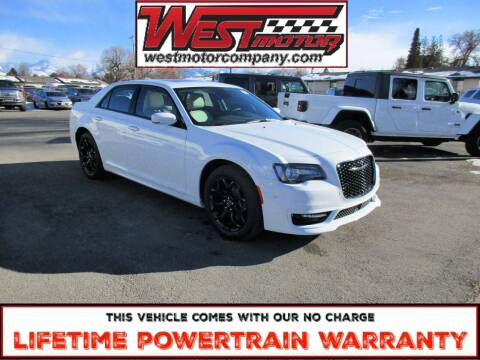 2021 Chrysler 300 for sale at West Motor Company in Preston ID