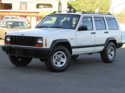 1997 Jeep Cherokee for sale at Best Auto Buy in Las Vegas NV