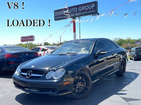2009 Mercedes-Benz CLK for sale at Divan Auto Group in Feasterville Trevose PA