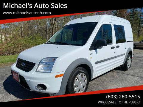 2012 Ford Transit Connect for sale at Michael's Auto Sales in Derry NH