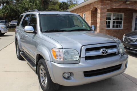 2007 Toyota Sequoia for sale at MITCHELL AUTO ACQUISITION INC. in Edgewater FL