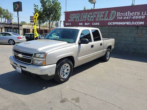 2006 Chevrolet Silverado 1500 for sale at SPRINGFIELD BROTHERS LLC in Fullerton CA