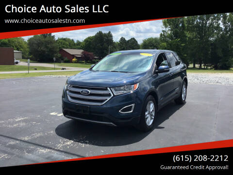 2016 Ford Edge for sale at Choice Auto Sales LLC - Cash Inventory in White House TN