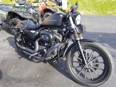 2010 Harley Davidson 883 Sportster Low for sale at W V Auto & Powersports Sales in Cross Lanes WV