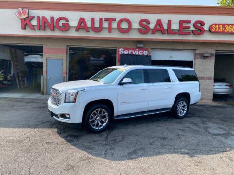 2016 GMC Yukon XL for sale at KING AUTO SALES  II in Detroit MI