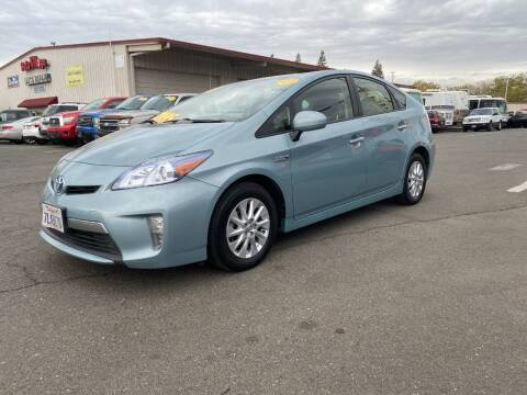 2015 Toyota Prius Plug-in Hybrid for sale at TOP QUALITY AUTO in Rancho Cordova CA