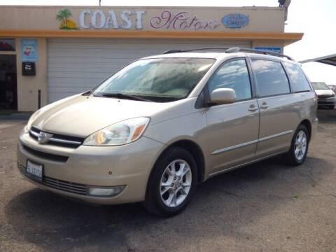 2014 Toyota Sienna for sale at Coast Motors in Arroyo Grande CA