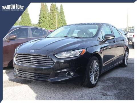 2013 Ford Fusion for sale at BARTOW FORD CO. in Bartow FL