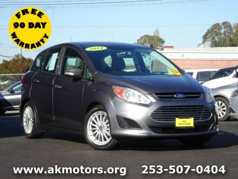 2014 Ford C-MAX Hybrid for sale at AK Motors in Tacoma WA