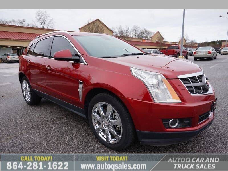 2012 Cadillac SRX for sale at Auto Q Car and Truck Sales in Mauldin SC