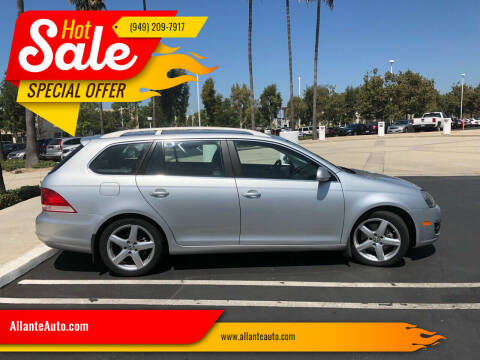 2009 Volkswagen Jetta for sale at AllanteAuto.com in Santa Ana CA