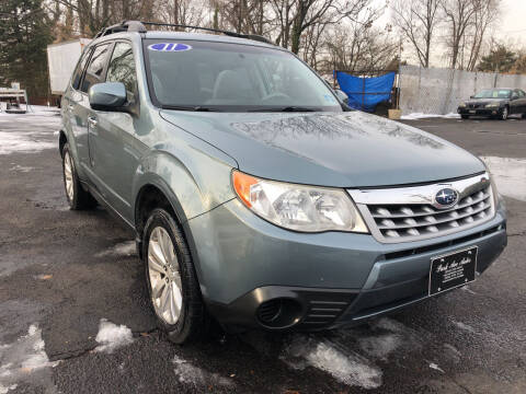 2011 Subaru Forester for sale at PARK AVENUE AUTOS in Collingswood NJ