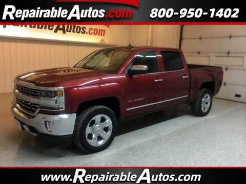 2018 Chevrolet Silverado 1500 for sale at Ken's Auto in Strasburg ND