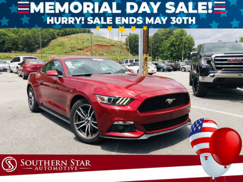2015 Ford Mustang for sale at Southern Star Automotive, Inc. in Duluth GA