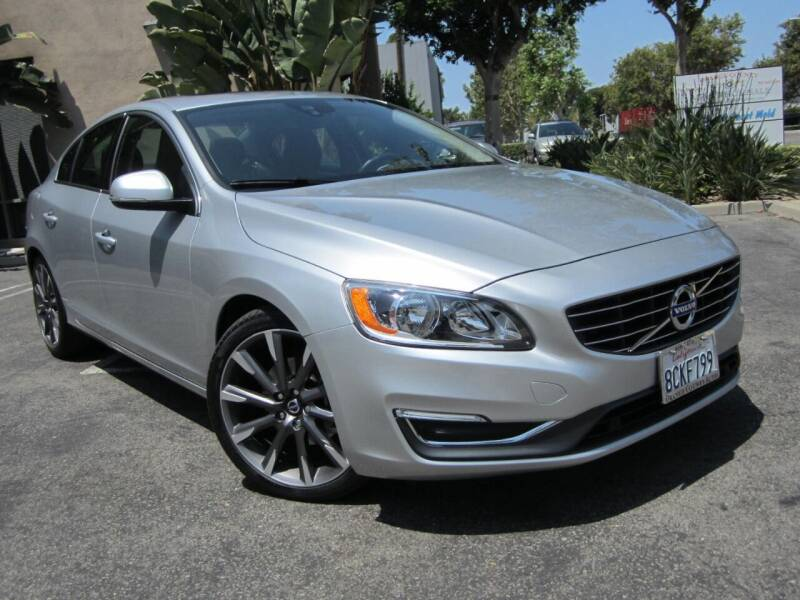 2015 Volvo S60 for sale at ORANGE COUNTY AUTO WHOLESALE in Irvine CA