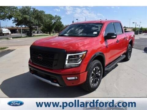 2020 Nissan Titan for sale at South Plains Autoplex by RANDY BUCHANAN in Lubbock TX