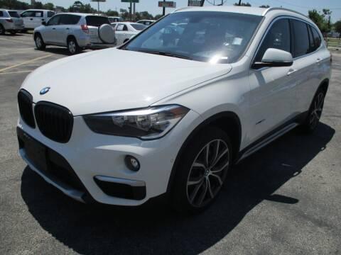 2017 BMW X1 for sale at GRG Auto Plex in Houston TX