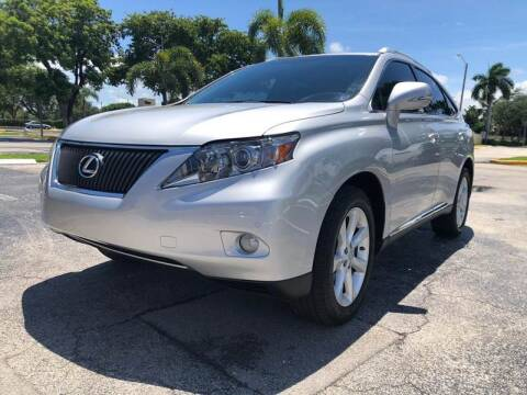 2012 Lexus RX 350 for sale at GERMANY TECH in Boca Raton FL