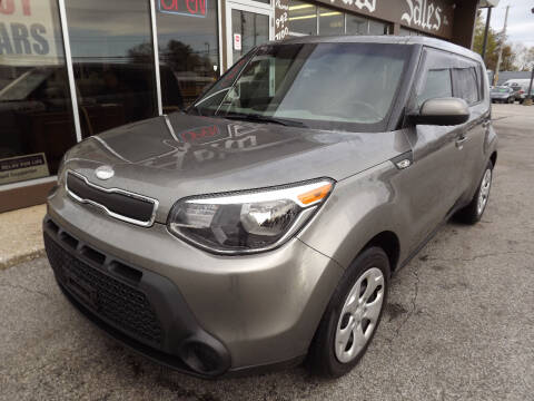 2014 Kia Soul for sale at Arko Auto Sales in Eastlake OH