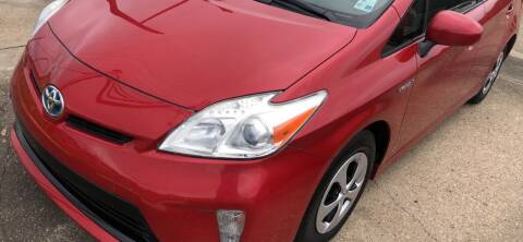 2012 Toyota Prius for sale at Quality Wholesale Center Inc in Baton Rouge LA